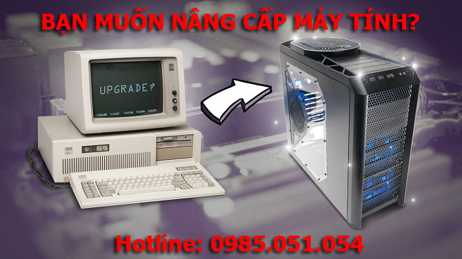 Dịch vụ nâng cấp máy tính đường Nguyễn Thông