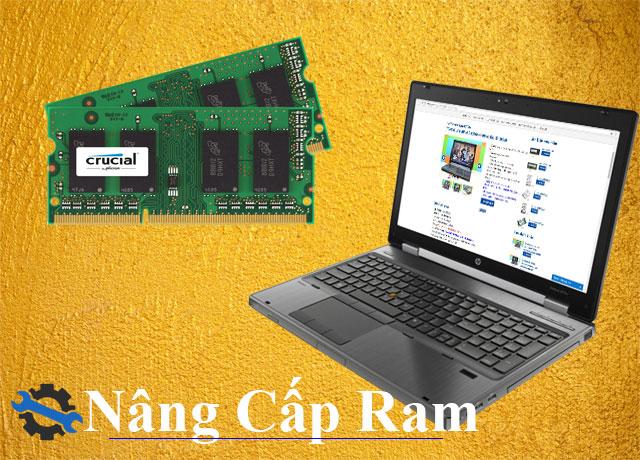 Nâng cấp RAM cho Laptop