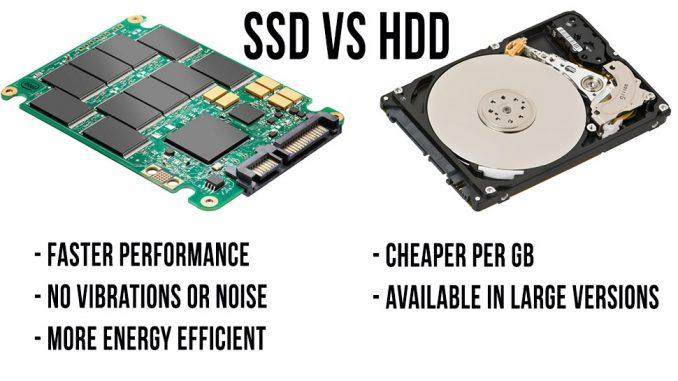 Nên chọn ổ SSD hay HDD
