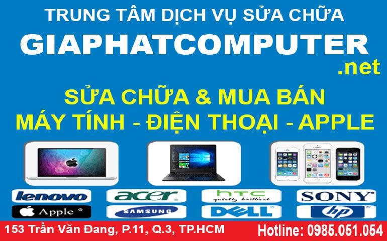 Sửa máy tính đường Nguyễn Văn Trỗi