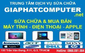 Sửa máy tính đường Phan Đăng Lưu