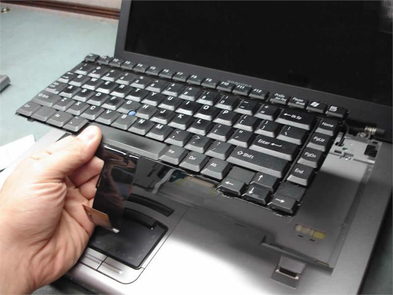 Thay bàn phím laptop đường lê văn sỹ