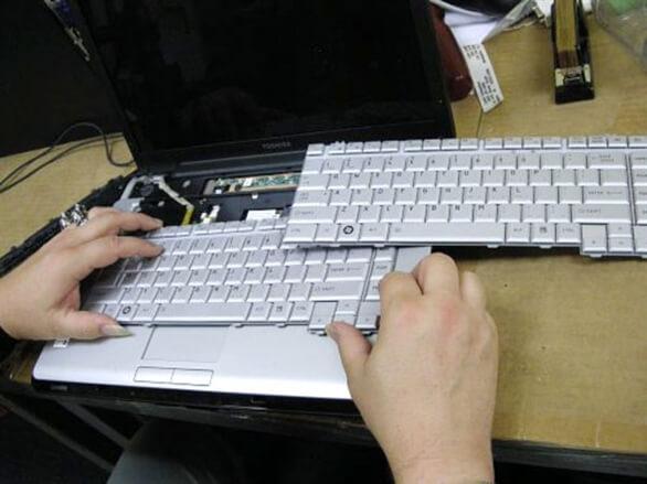 Thay bàn phím laptop Quận 6