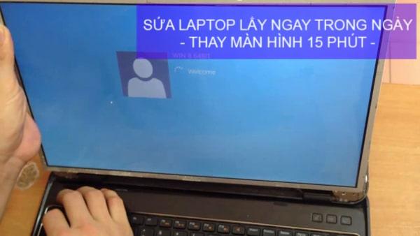 Thay màn hình laptop đường âu cơ