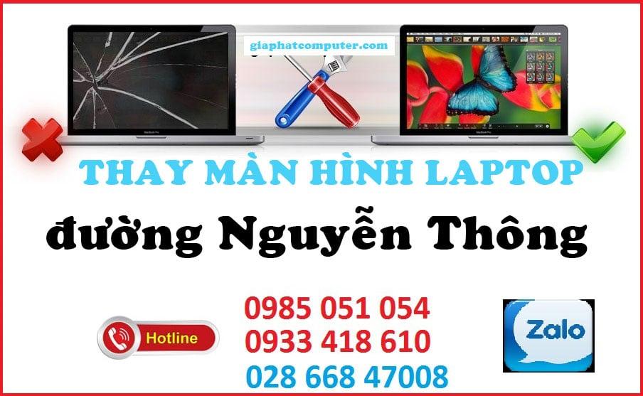 Thay màn hình laptop đường Nguyễn Thông