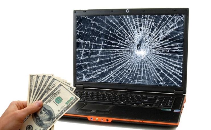 Thay màn hình laptop đường trương định