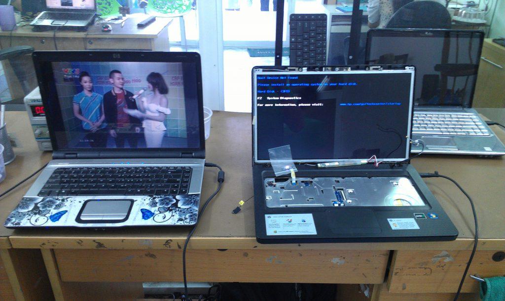 Thay màn hình laptop đường tú xương