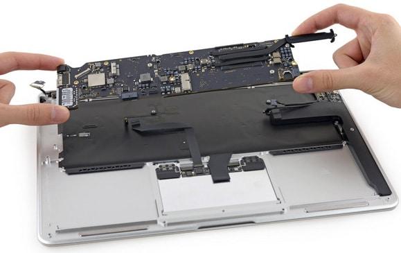 Sửa macbook đường bùi thị xuân
