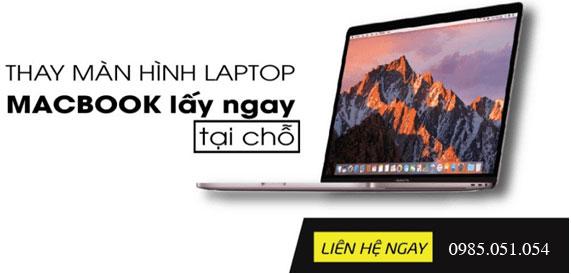 Thay màn hình macbook lấy ngay