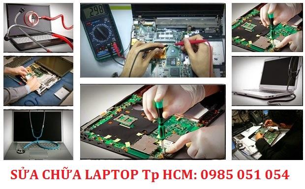 Sửa laptop uy tín Tp HCM