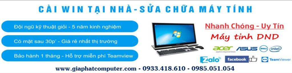 Sửa máy tính - Gia Phát Computer