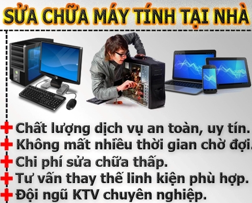 Sửa laptop giá rẻ tphcm