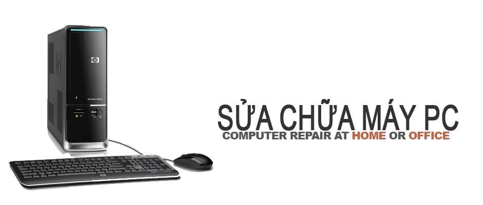 Sửa máy tính uy tín ở tphcm